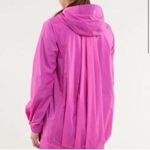lululemon athletica Jackets & Coats - Lululemon No Rain No Gain Raincoat Paris Pink 4